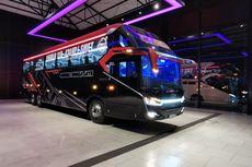 2 Bus Baru PO Sudiro Tungga Jaya Pakai Sasis Tronton Volvo
