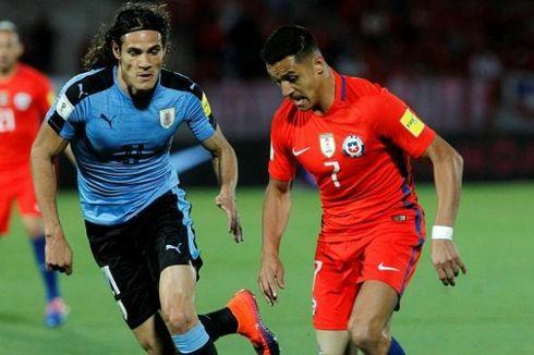 Dwigol Sanchez Warnai Kemenangan Cile atas Uruguay