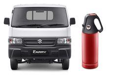 Suzuki Carry Bersolek, Pasang Bumper Kapak dan APAR di Awal 2021