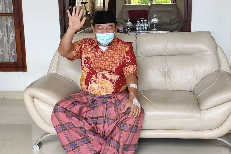 Bupati Ogan Ilir Sumatera Selatan  HM Ilyas Panji Alam
