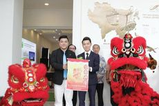 Peresmian Pembukaan Kantor Pemasaran Forest City Internasional di Jakarta