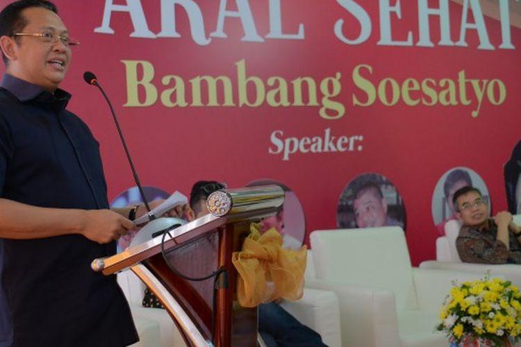 Bambang Soesatyo meluncurkan buku terbarunya yang berjudul Akal Sehat Bambang Soesatyo.