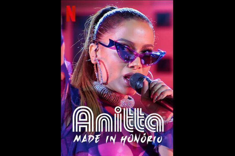 Serial dokumenter Anitta: Made in Honorio (2020) tayang di Netflix mulai hari ini (16/12/2020).