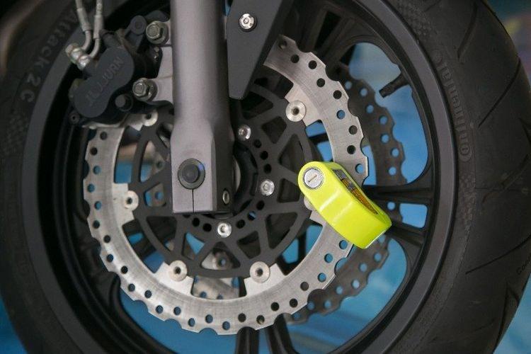 Kunci Pengaman Tambahan untuk Motor
