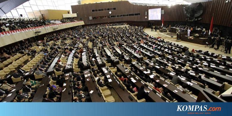 Ini Susunan Pimpinan DPR, DPD, dan MPR 2019-2024 - Kompas.com - Nasional Kompas.com