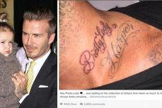 Lagi, David Beckham Ungkap Rasa Cinta Lewat Tato