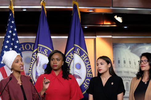 Jadi Target Komentar Rasis Trump, Siapa 4 Anggota Perempuan Kongres AS?