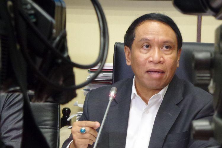 Ketua Komisi II DPR RI Zainuddin Amali di Kompleks Parlemen, Senayan, Jakarta, Senin (27/3/2017).