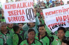 Driver Ojek Online Aceh Unjuk Rasa Tolak Pemotongan Bonus
