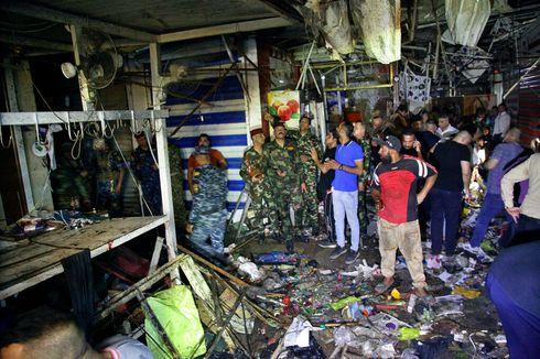 ISIS Klaim Dalang Ledakan Bom Bunuh Diri di Pasar Irak yang Tewaskan 35 Orang