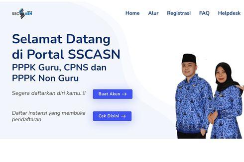Pelamar CPNS dan PPPK 2021 Capai 3 Juta, Pendaftaran Ditutup 21 Juli