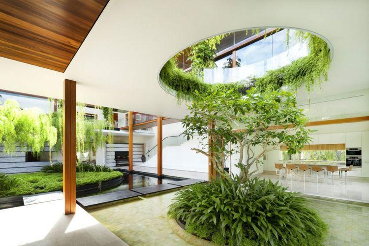 Pohon willow yang menghijaukan ruang karya Di Guz Architects