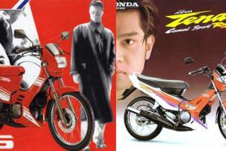 Honda Nova 2-tak, generasi lama ayam jago Honda.