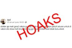 [HOAKS] Dokter di Palembang Meninggal Dunia gara-gara Vaksin Covid-19