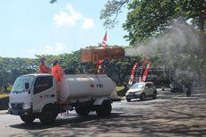 Sejumlah Ruas Jalan Protokol di Kota Malang Kembali Disemprot Cairan Disinfektan