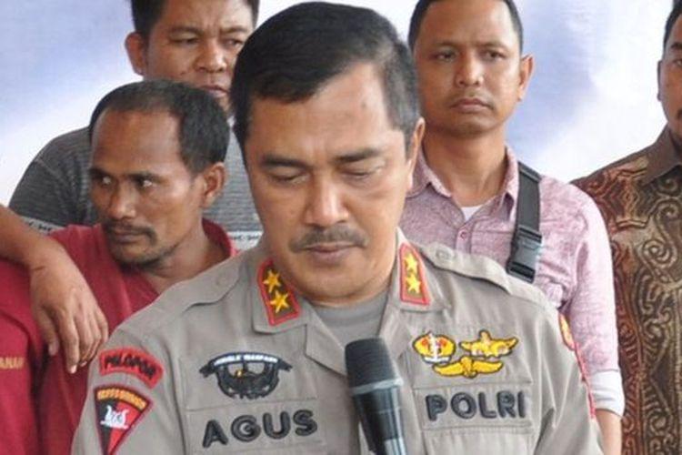 Komjen Agus Andrianto saat menjabat Kapolda Sumatra Utara (Polda Sumut) dan berpangkat Irjen.