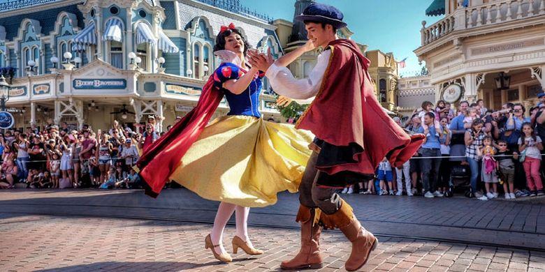 Disneyland di Paris.