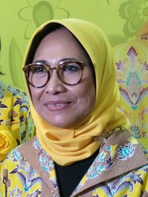 Politisi Partai Golkar Hetifah Sjaifudian saat ditemui di kantor DPP Partai Golkar, Slipi, Jakarta Barat, Minggu (18/3/2018).