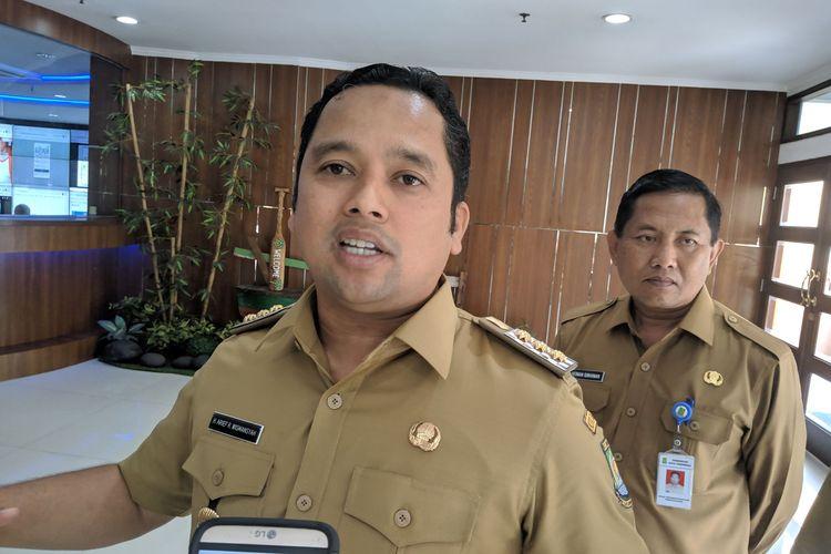 Walikota Tangerang, Arief R Wismansyah saat ditemui di Kantor Pusat Pemerintahan Kota Tangerang, Senin (6/1/2020)