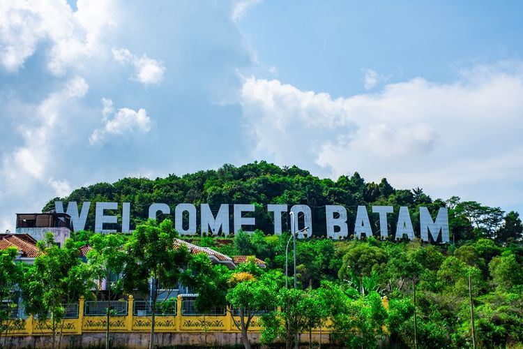 A tourist destination in Batam island.