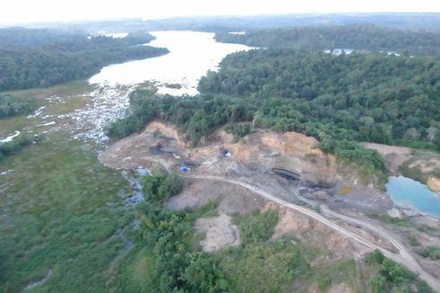 Tambang Batu Bara Ilegal di Waduk Samboja Kutai Kartanegara Ancam 960 Jiwa