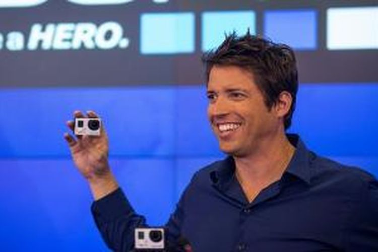 Nicholas Woodman, pendiri GoPro