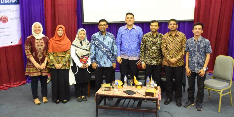 FIA UI menggelar diskusi buku hasil riset mereka berjudul Korupsi Mengorupsi di Daerah: Studi Pola Korupsi Pemerintahan Daerah 2004-2018, Jumat (23/11/2018), di Auditorium FIA UI, Depok, Jawa Barat.