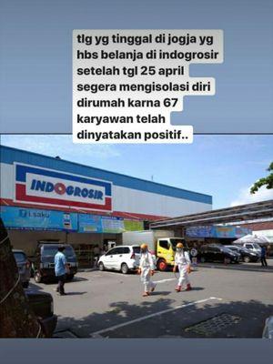 Pesan Hoaks 67 karyawan Indogrosir positif