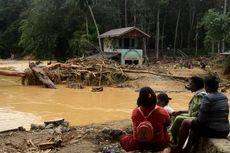Banjir Bandang di Langkat, Kayu Besar Berserakan Sejauh 5 Kilometer