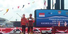 Luncurkan Alugoro-405, Indonesia Produksi Kapal Selam Sendiri