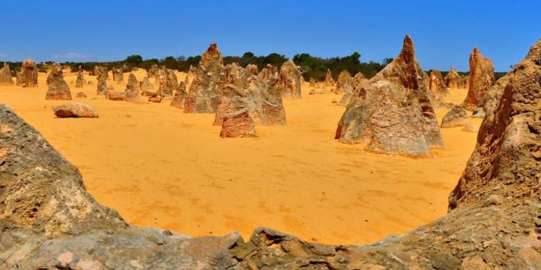 The Pinnacles di Perth, Australia.