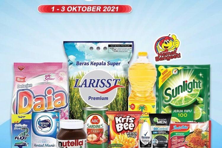 Katalog promo Indomaret periode 1-3 Oktober 2021.