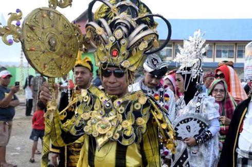 1.000 Penari Pelajar Ramaikan Festival Keraton Kesultanan Buton