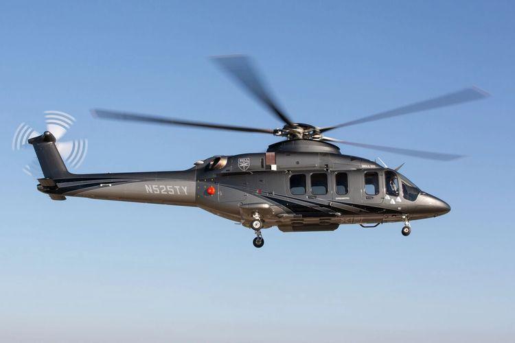 Helikopter Bell 525 sebagai helikopter angkut VVIP.
