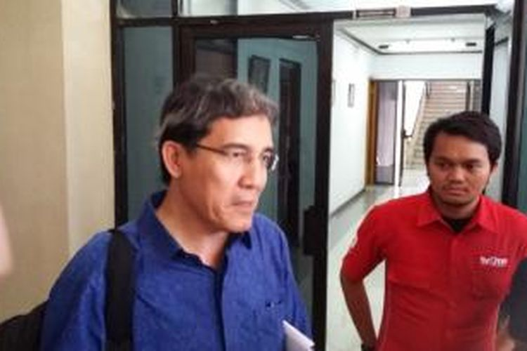 Komisioner KPU Hadar Nafis Gumay, saat ditemui di Gedung KPU, Jakarta Pusat, Senin (8/3/2015).