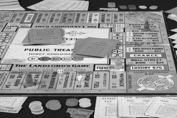 The Landlord Game konsep awal Monopoly