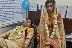 Demi Selamatkan Seorang Gadis, Pasangan Ini Donor Darah di Hari Pernikahan Mereka