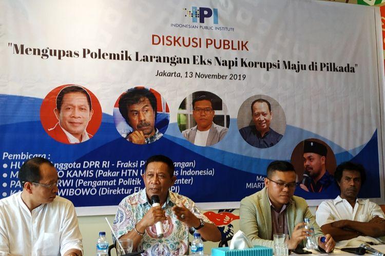 Politisi PDI-P Ini Klaim Parpolnya Tolak Eks Koruptor Mendaftar Pilkada 2020