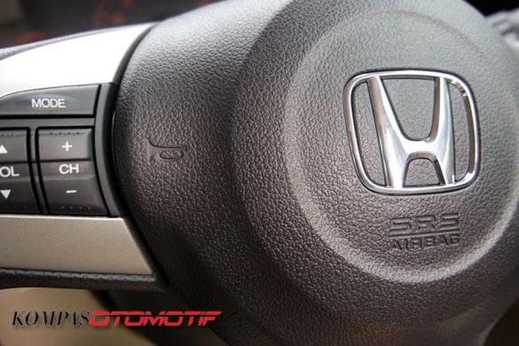 Kantong udara (airbag) Honda Brio RS 2016.