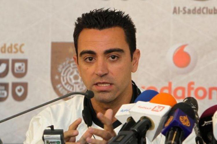 Gelandang Al Sadd, Xavi Hernandez.
