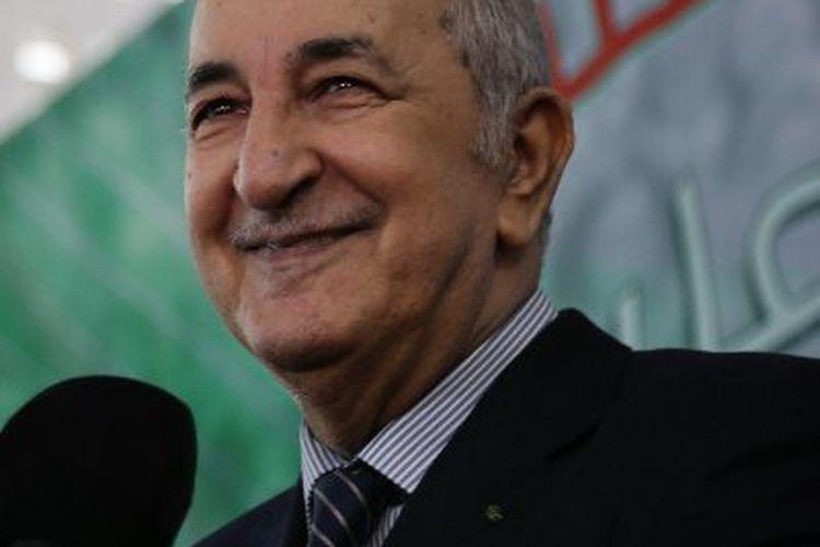 Presiden Aljazair Abdelmadjid Tebboune