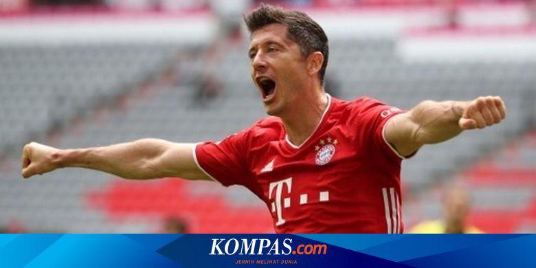 Puncaki Top Skor Liga Champions, Lewandowski Tak B