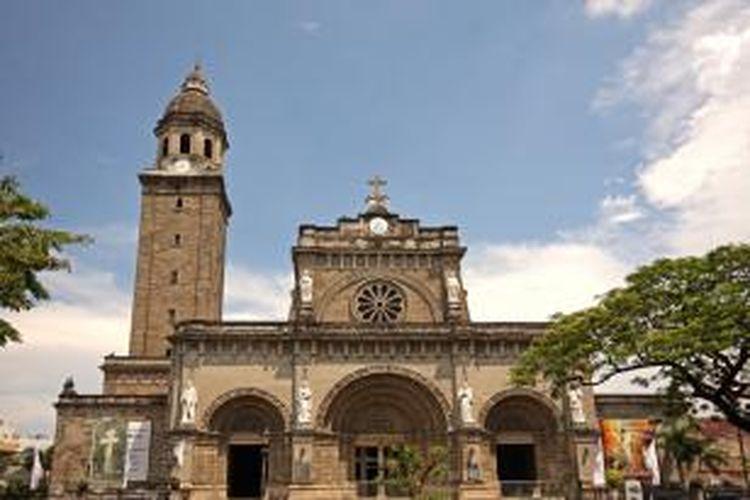 Manila Cathedral, Intramuros, Filipina