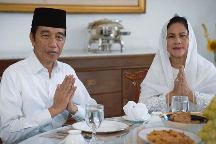 Presiden Joko Widodo dan Ibu Negara Iriana mengucapkan selamat hari raya Idul Fitri 1 Syawal 1441 Hijriah yang jatuh bertepatan pada Minggu (24/5/2020).