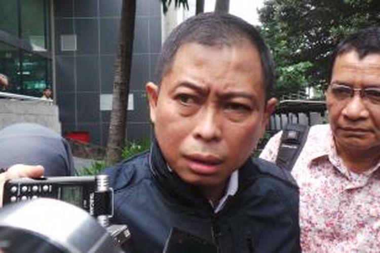 Direktur Utama PT Kereta Api Indonesia Ignasius Jonan.