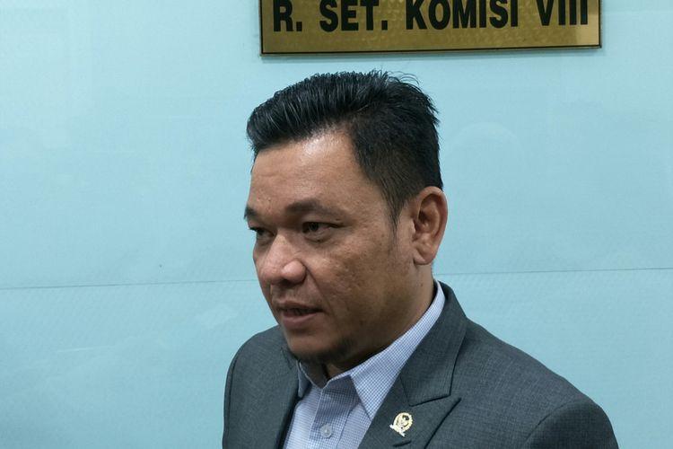 Wakil Ketua Komisi VIII DPR Ace Hasan Syadzily di Kompleks Parlemen, Senayan, Jakarta, Senin (26/10/2018)