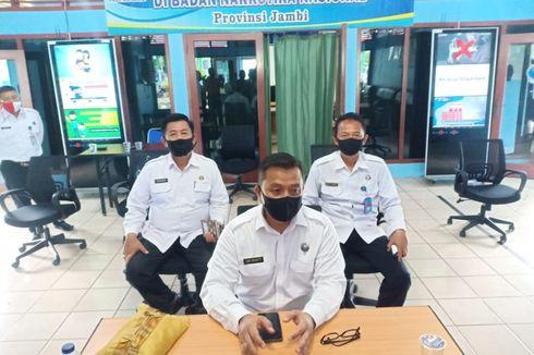9 Tahanan BNNP Jambi Kabur Melalui Kamar Mandi