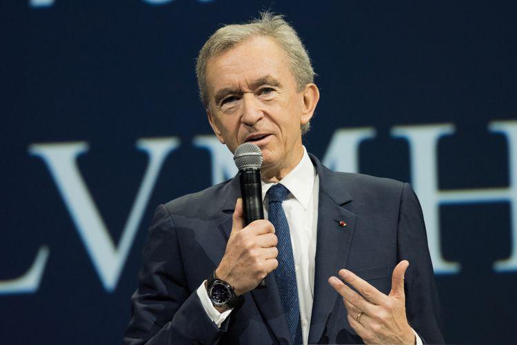 CEO LVMH Bernard Arnaud