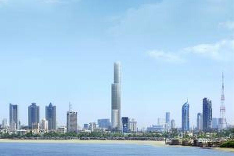 The World One, apartemen setinggi 442 meter ini bakal menjungkalkan Princess Tower Dubai sebagai hunian tertinggi dunia.