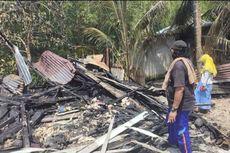 Ditinggal Pemiliknya Sarapan Bubur, Rumah Milik Marbut di Kalbar Terbakar